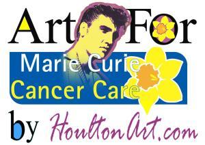 Elvis Marie Curie Poster