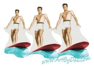 Elvis Triple Surfer Best
